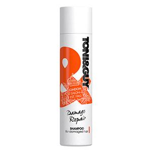 Восстанавливающий шампунь для поврежденных волос Toni&Guy Damage Repair Shampoo 250 ml.