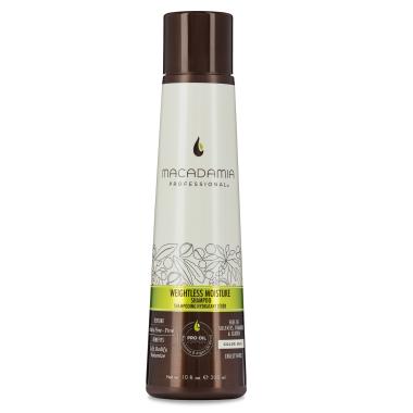 Увлажняющий шампунь для тонких волос Macadamia Professional Weightless Moisture Shampoo