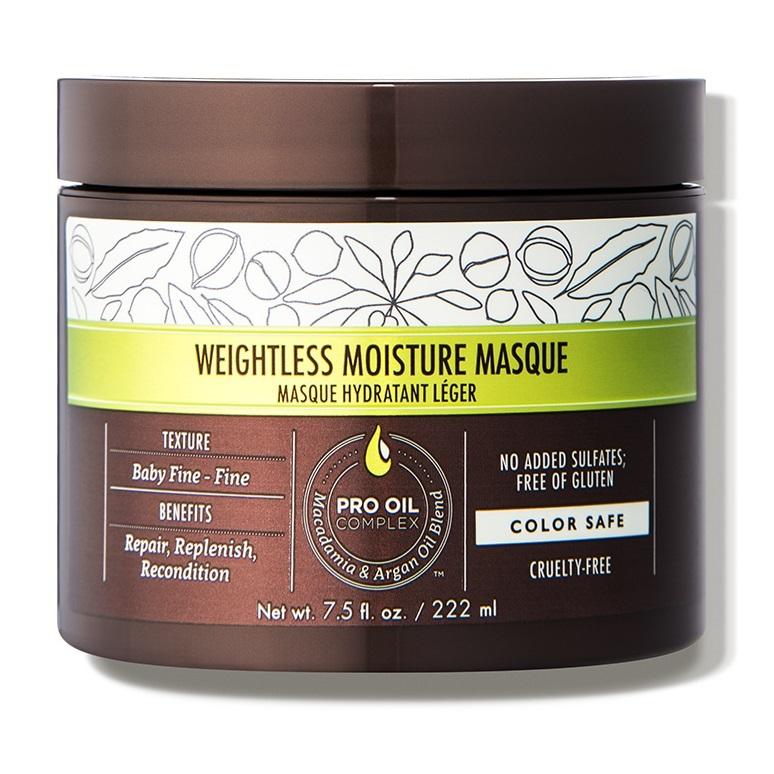 Маска увлажняющая для тонких волос Macadamia Professional Weightless Moisture Masque