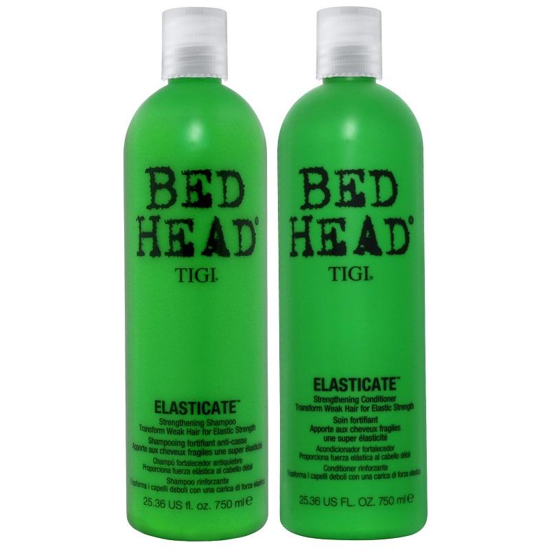 Набор TIGI Bed Head Elasticate (укрепляющий шампунь, 750 ml. + кондиционер 750 ml.)