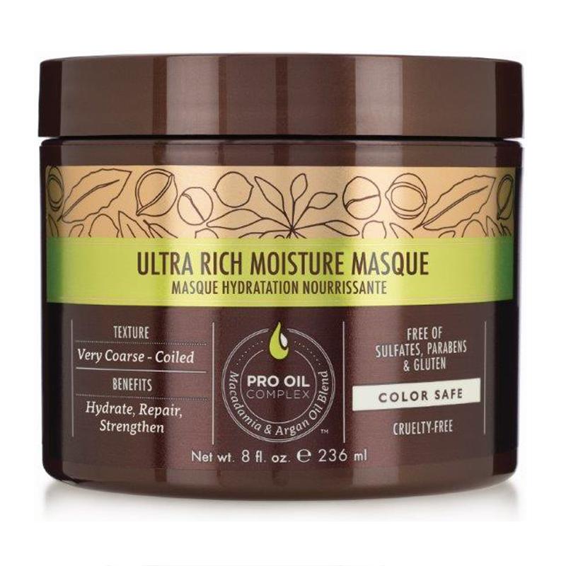 Ультра-увлажняющая маска для сухих и жестких волос Macadamia Professional Ultra Rich Moisture Masque
