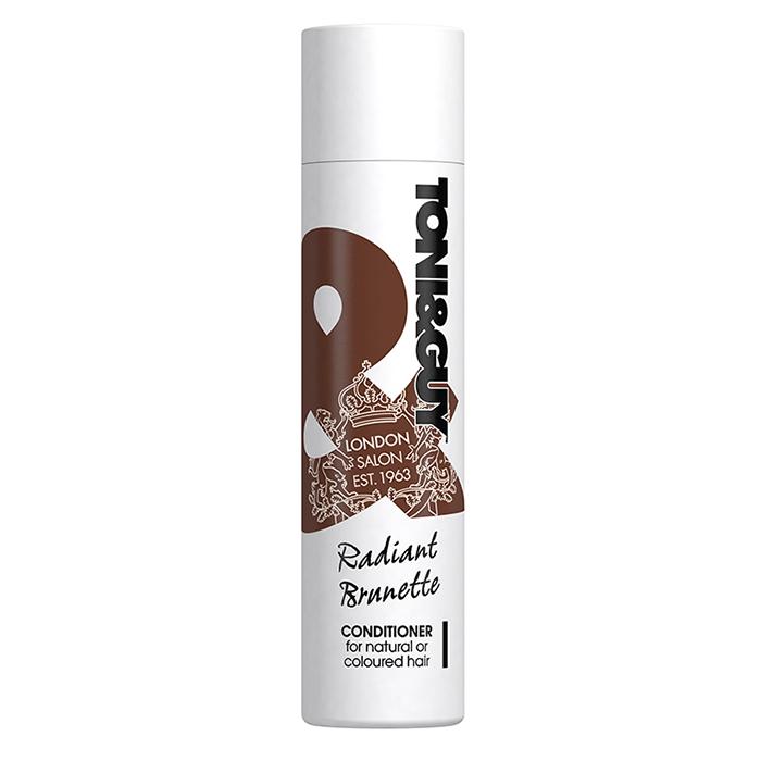 Кондиционер для волос темных оттенков Toni&Guy Radiant Brunette Conditioner, 250 ml.