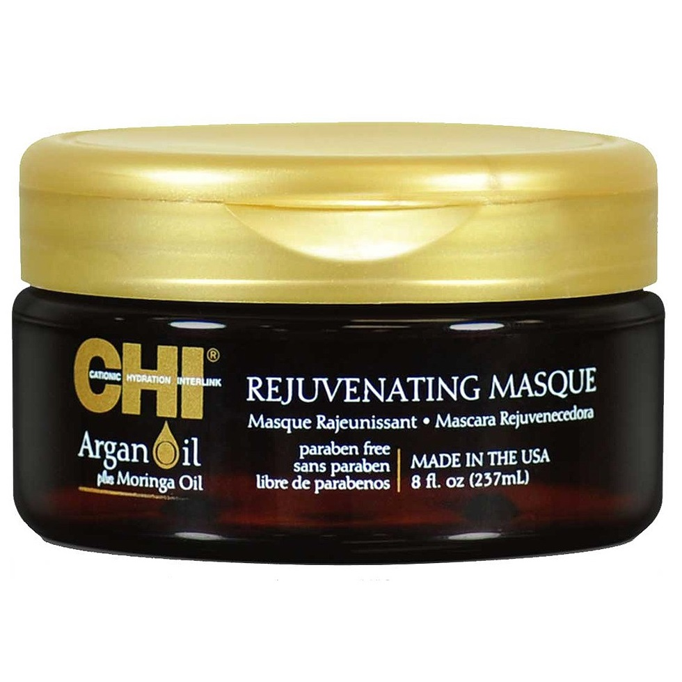 Омолаживающая маска для волос CHI Argan Oil Rejuvenating Masque, 237 ml.