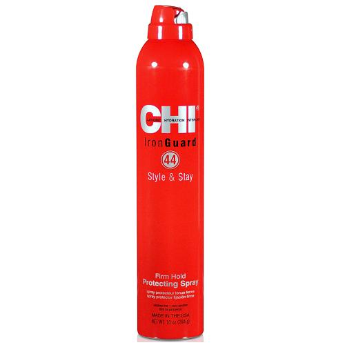 Термозащитный лак для волос сильной фиксации CHI 44 Iron Guard Style & Stay Firm Hold Protecting Spray 251 ml.