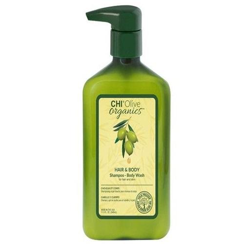 Шампунь и гель для душа 2в1 CHI Olive Organics Hair and Body Shampoo Body Wash