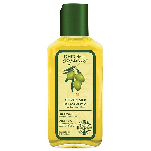 Шелковое масло для волос и тела CHI Olive Organics Olive & Silk Hair and Body Oil