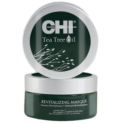 Восстанавливающая маска с маслами чайного дерева CHI Tea Tree Oil Revitalizing Masque, 237 ml.