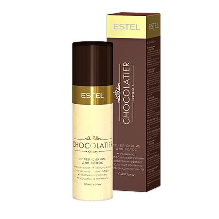 Спрей-сияние для волос Estel Professional Otium Chocolatier Glanzspray 100 ml.