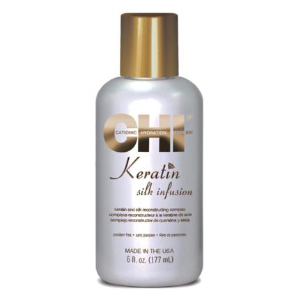 Жидкий шелк CHI Keratin Silk Infusion 177 ml.