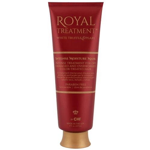 Интенсивная восстанавливающая маска для сухих и поврежденных волос Chi Royal Treatment Intense Moisture Mask 237 ml.
