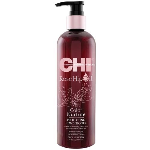 Кондиционер для защиты цвета CHI Rose Hip Oil Protecting Conditioner