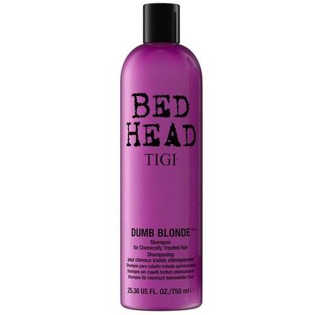 Восстанавливающий шампунь для блондинок Tigi Bed Head Dumb Blonde Shampoo