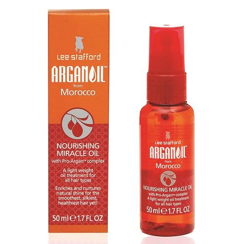 Питательное аргановое масло для волос Lee Stafford Agran Oil Nourishing Miracle Oil