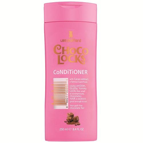 Кондиционер для гладкости и блеска волос с экстрактом какао Lee Stafford Choco Locks Conditioner