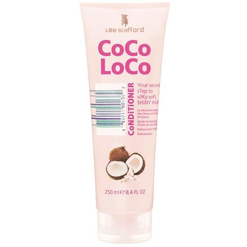 Увлажняющий кондиционер с кокосовым маслом Lee Stafford Coco Loco Conditioner Straw To Silk