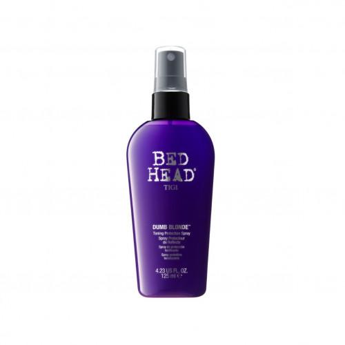 Тонизирующий защитный спрей для блондинок Tigi Bed Head Dumb Blonde Toning Protection Spray