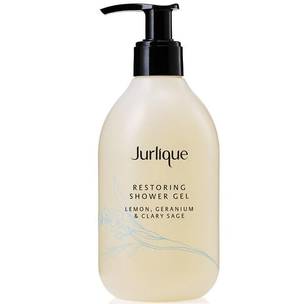 Jurlique Restoring Shower Gel Lemon Geranium and Clary Sage