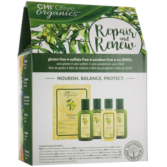 CHI Olive Organics Repair & Renew Kit